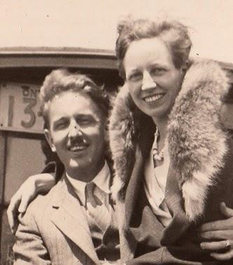 Alton Wilson & Anetta Morley, 1931.