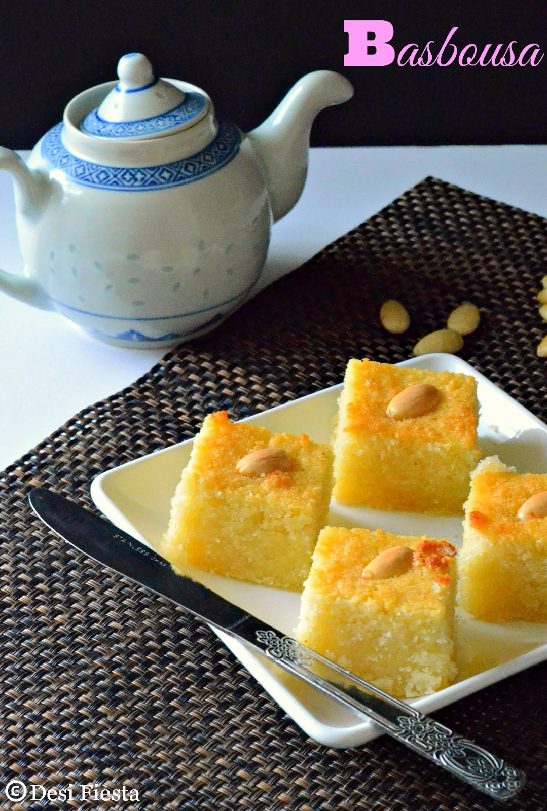 semolina / rava cake