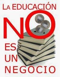 No a la educación mercantilista