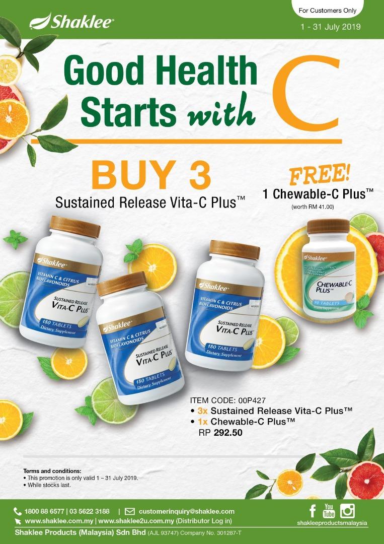 Promosi Vita C Plus