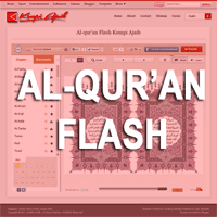 Menyimpan Al-Qur'an Flash Di Blog