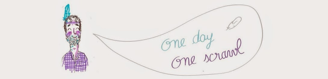 One day, One scrawl.