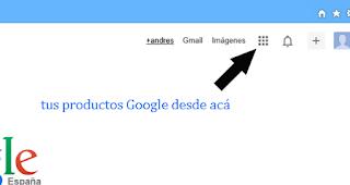 acceso a tus productos Google