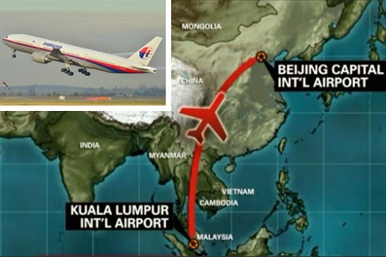 Malaysia Airlines MH370 hilang