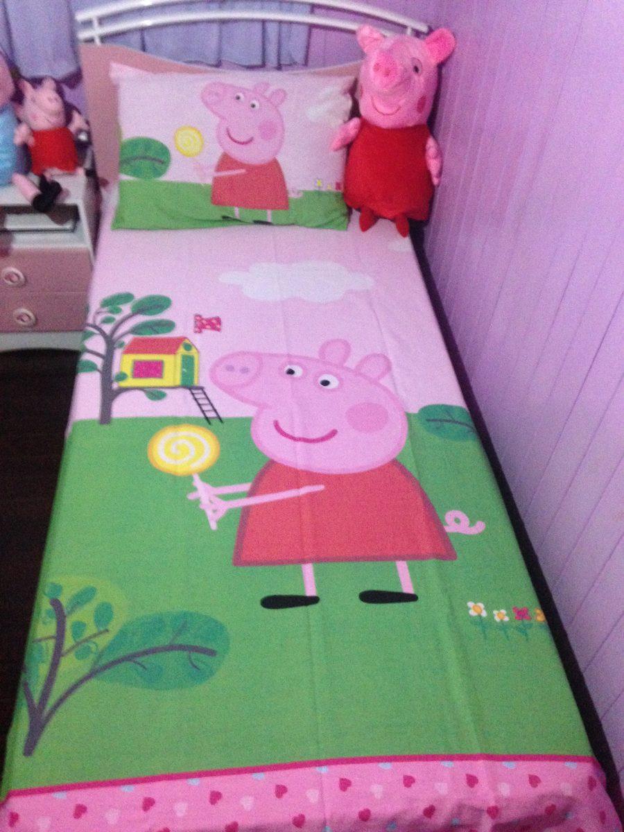 Jogo de cama infantil Peppa Pig 2015