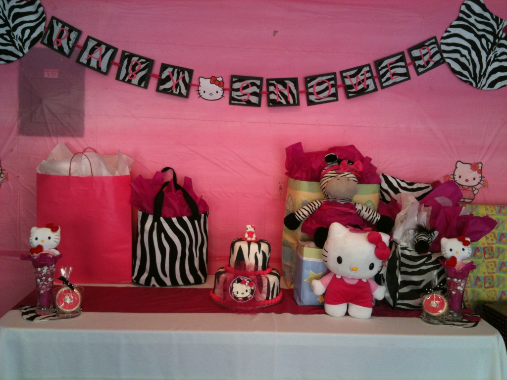 hello kitty baby shower hello kitty baby shower ideas 1024x768