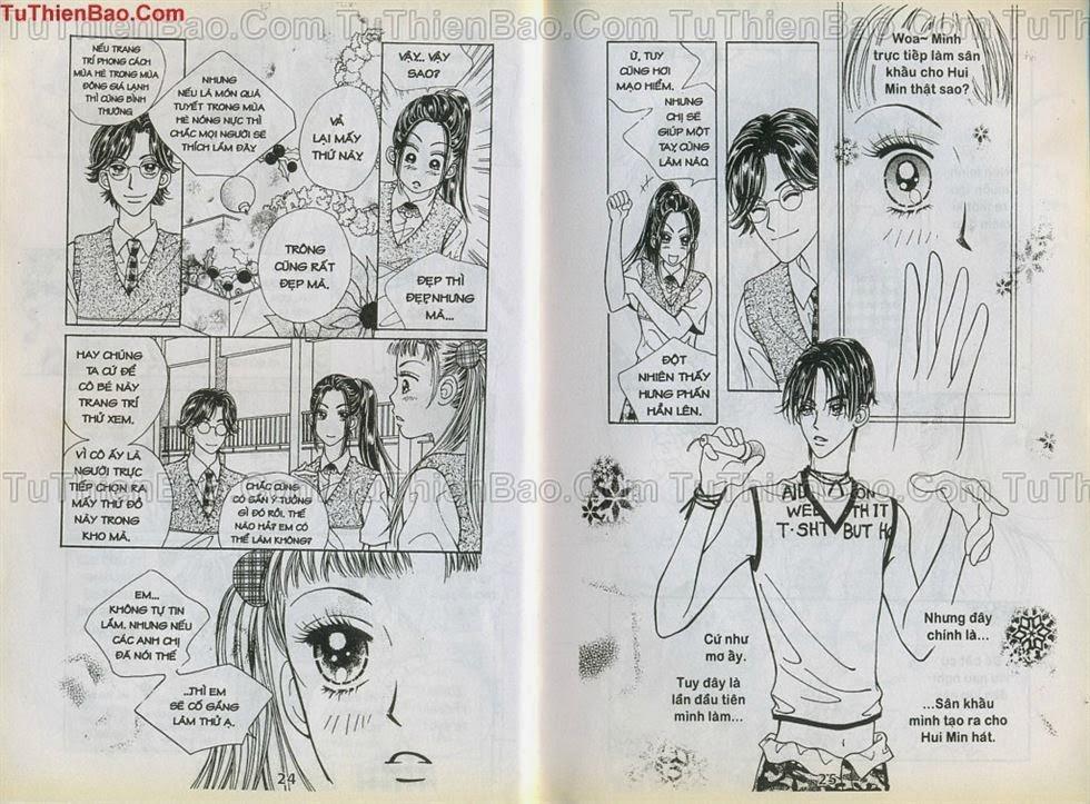 Xin Lỗi Tớ Thích Cậu chap 9 - Trang 12