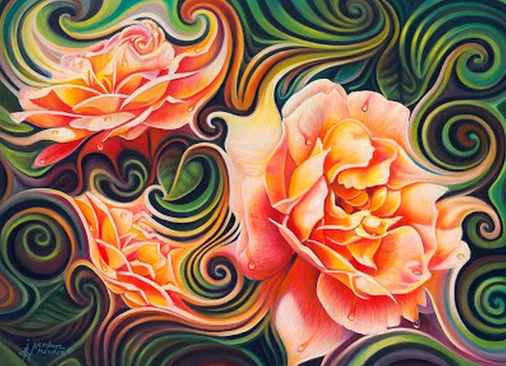 cuadros-de-flores-al-oleo-modernos