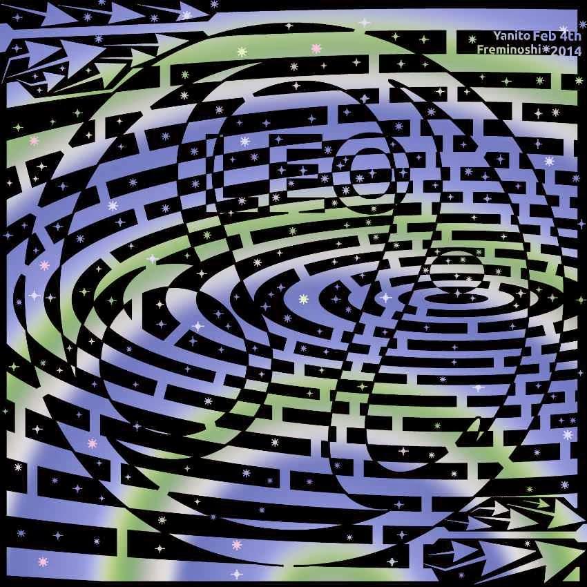 lucky leo the maze