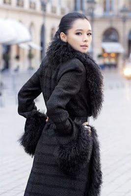 Asian Women Winter Fashion