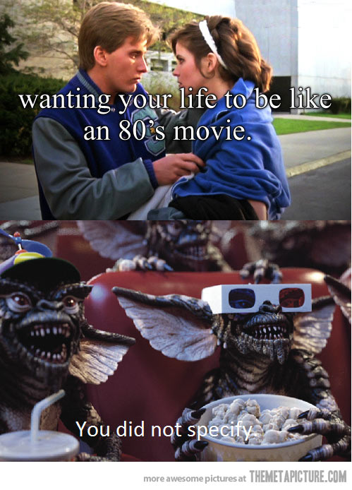 80's Movie Live Meme