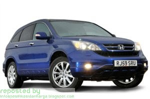 Harga Honda CR-V 4x4 Mobil Terbaru 2012