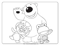 Pororo coloring pages pororo and friends