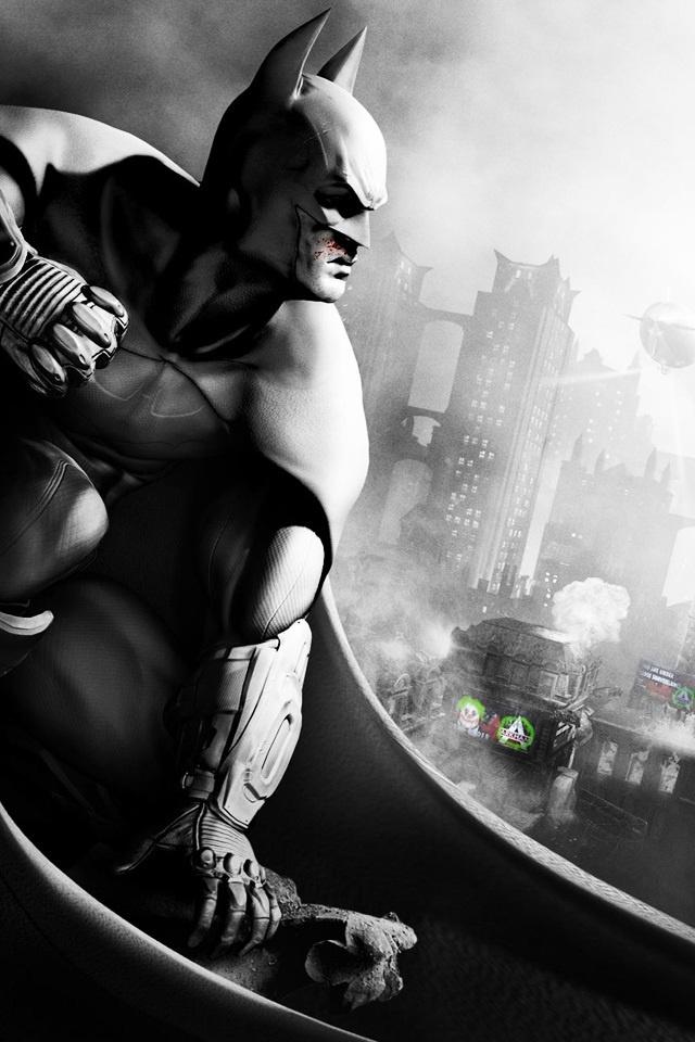 gallery for batman arkham city iphone wallpaper