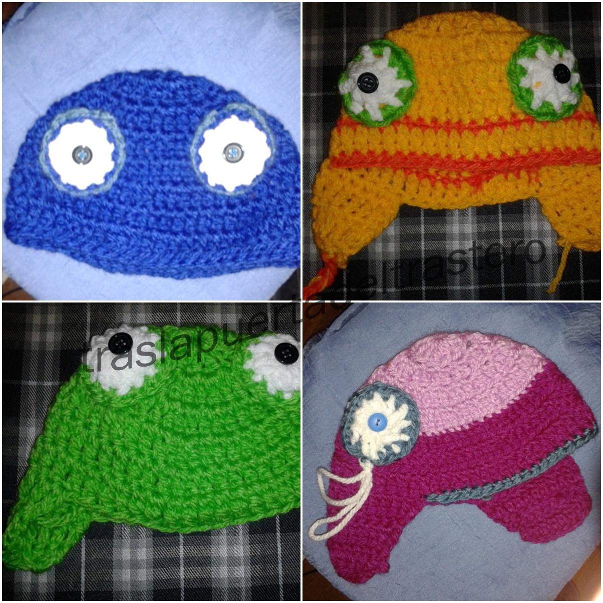 TrasLaPuertaDelTrastero  Gorros de lana para niños y niñas 3e0d04a2187