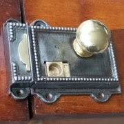 Regency Style Cast Iron Rim Latch