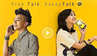 kakao talk aplikasi gaul buat chatting