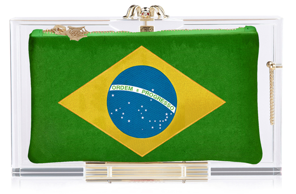Charlotte Olympia Hat Trick Pandora box clutch Brazil