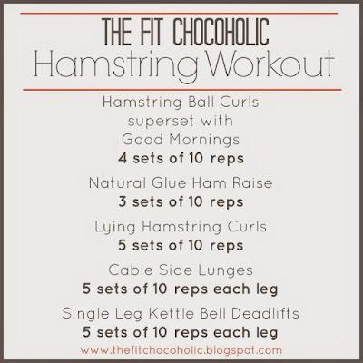 Hamstring Focused Workout