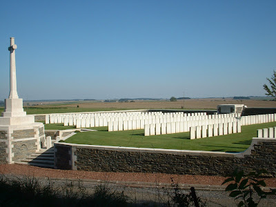 Beaurevoir British Cemetery, Aisne, France