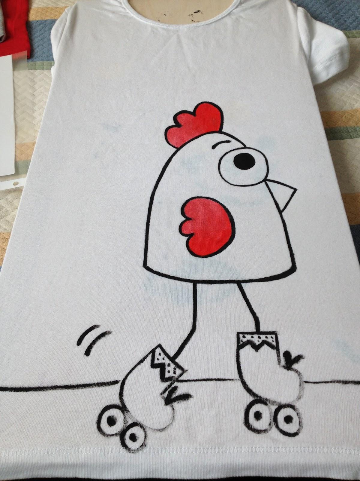 Blog de complementos decoraci n y textil hechos a mano - Plantillas para pintar camisetas ...