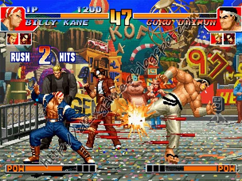 Free Download Games - King Of Fighters 97
