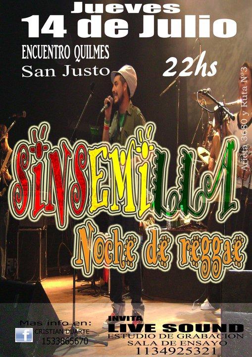 Sin Semilla - 14 de Julio
