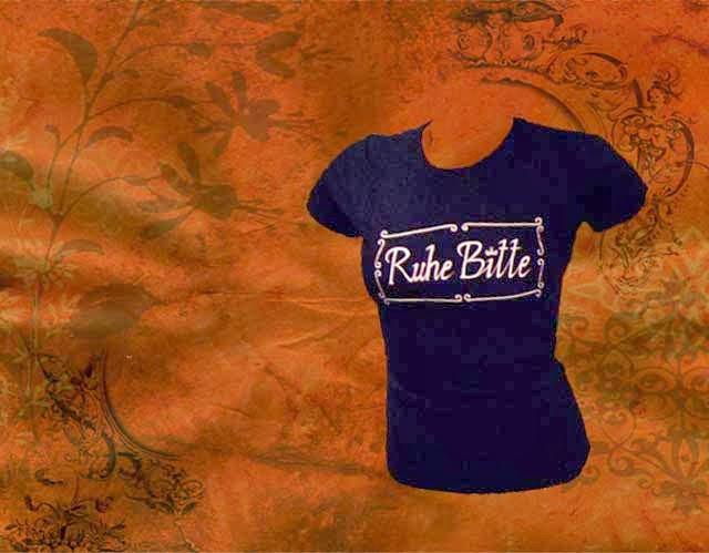 "Shirt ""Ruhe Bitte"""