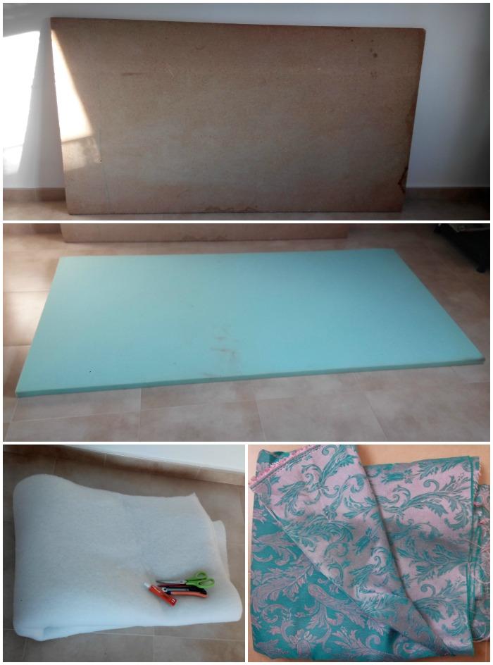 Pero qué cosa más bonita!: Como hacer un cabecero de cama forrado
