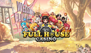 Screenshots of the Full house casino: Lucky slots for Android tablet, phone.