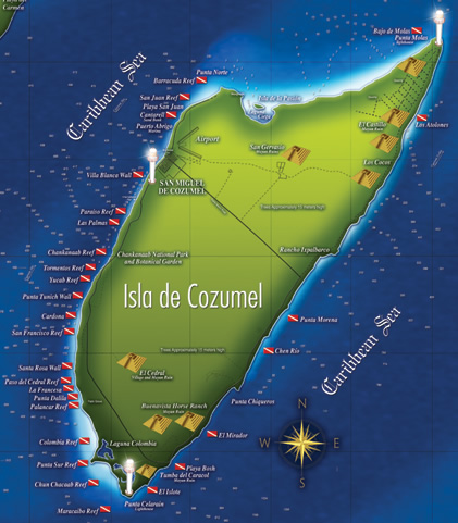 Delightful Departures Qu pasa Cozumel Reefs