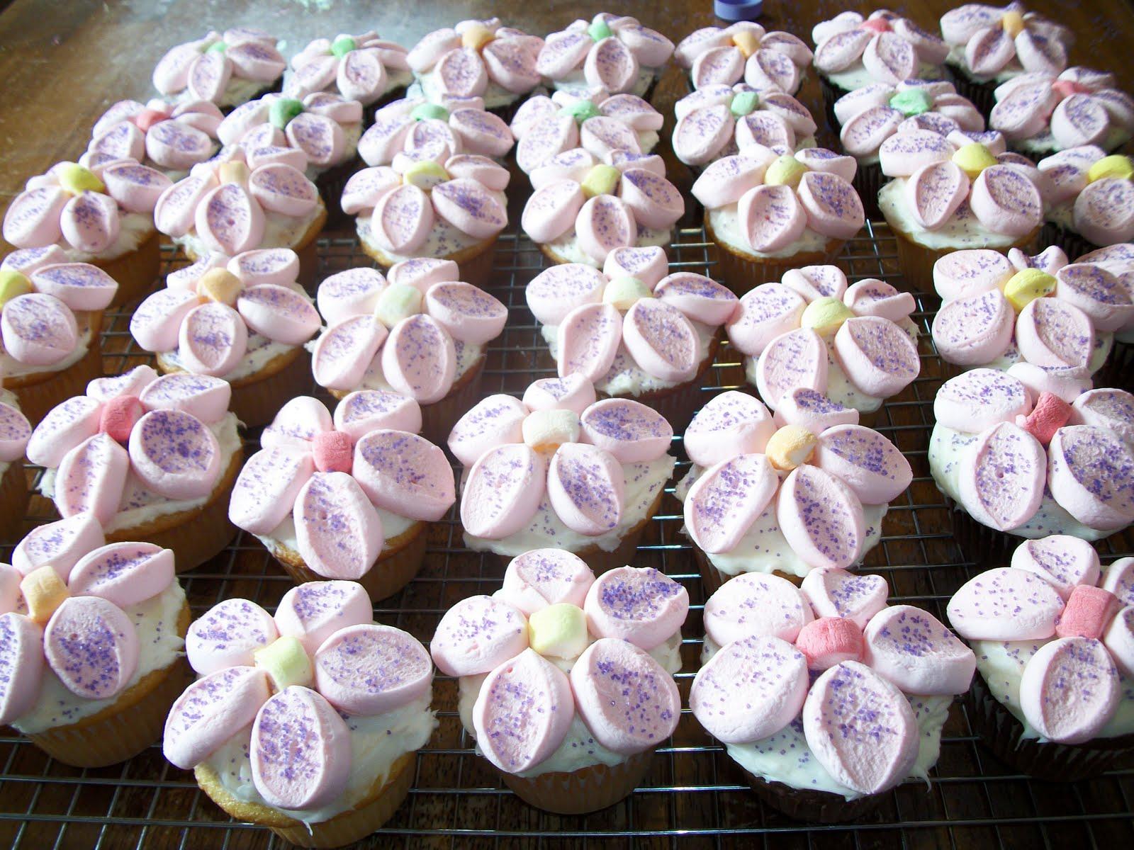 Beautiful flower cupcakes izmirmasajfo