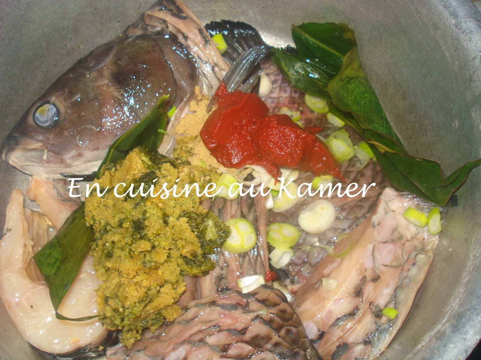 Kanga au bouillon de njansang la cuisine camerounaise - Cuisine africaine camerounaise ...