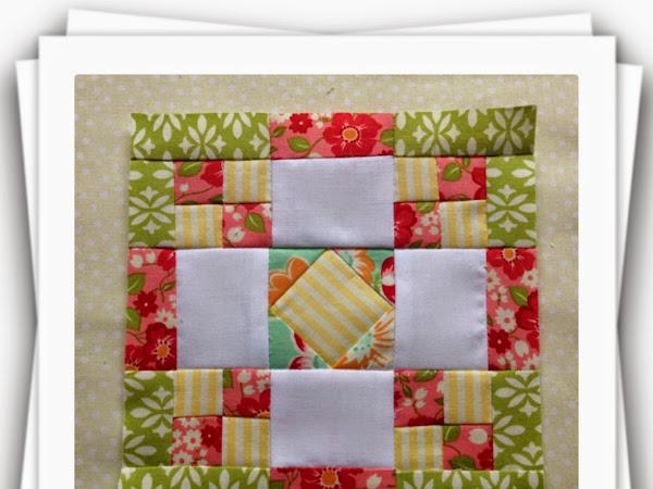Chatelaine- Free BOW Sampler Quilt Block 20