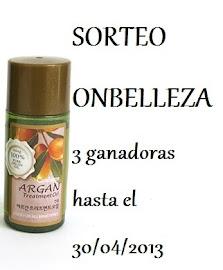 Sorteo Internacional de 3 tratamientos de aceite de argán