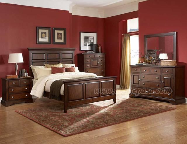 tempat tidur kayu jati tempat tidur kayu