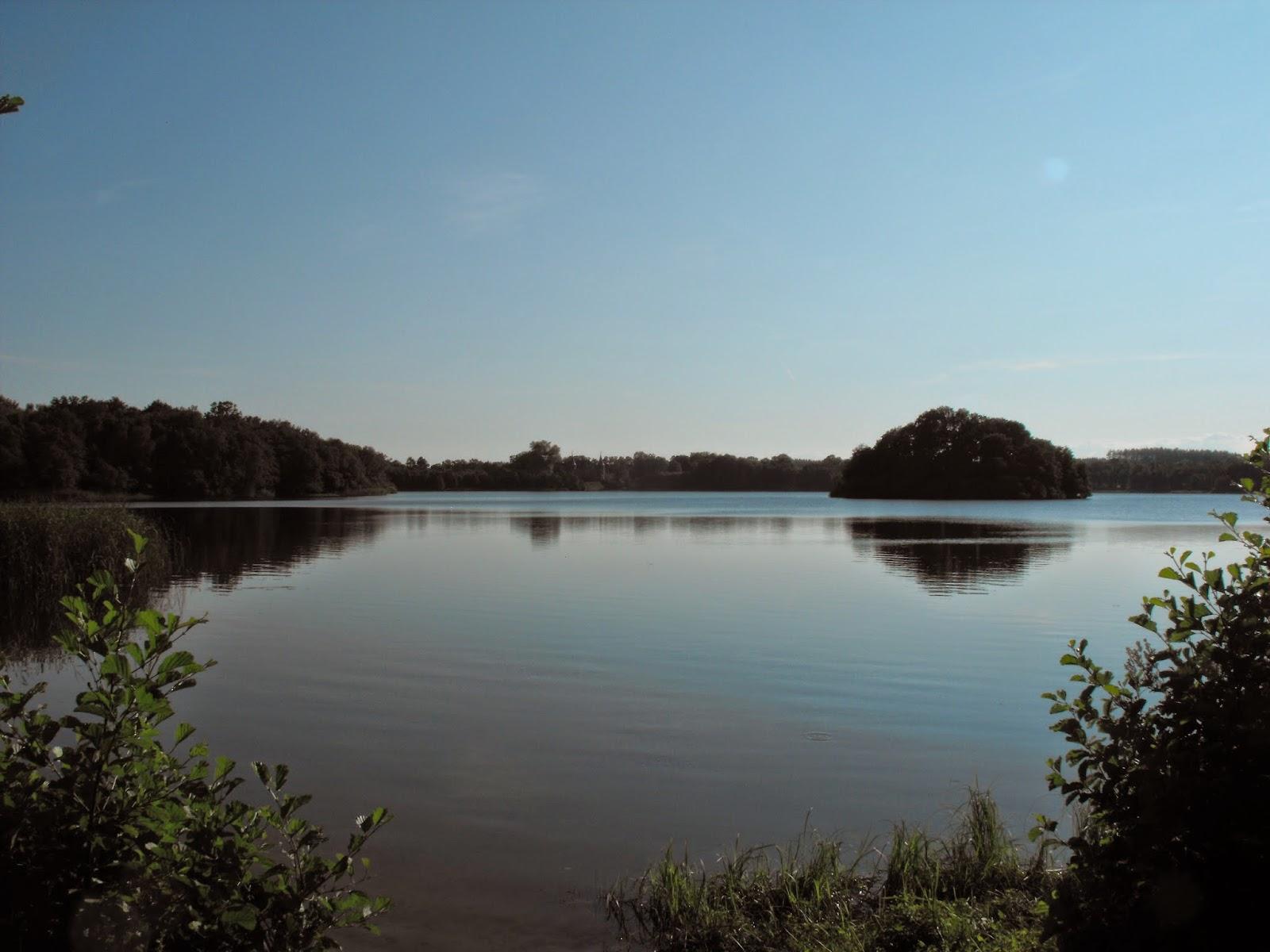 Bada, Sommar, Badsjö, insjö, vacker natur, Sösdala, Hörby, Kvesarumssjön, Kvesarums slott