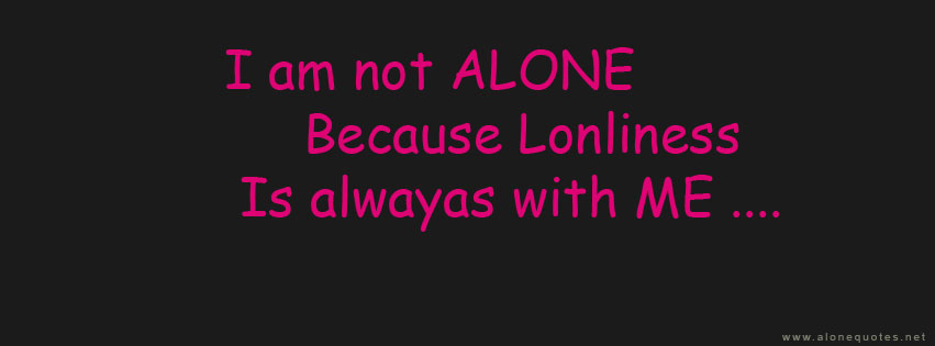 Alone And Happy Facebook Covers  Quote Addicts