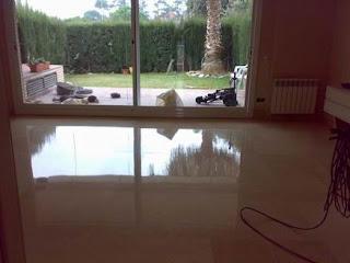 Pulir suelos, abrillantar pisos