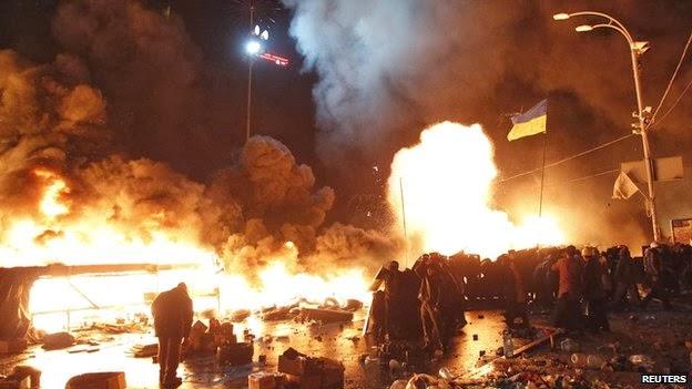 proteste revolutie morti ucraina kiev