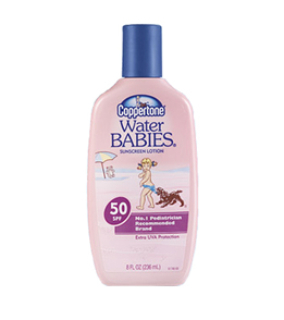 Water Babies Sun Tan Lotion
