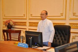 Thein Sein – သတင္းစာပါ သမၼတ မိန္႔ခြန္း ႏွင့္ မူရင္းမိန္႔ခြန္း သိသာစြာကြာျခား