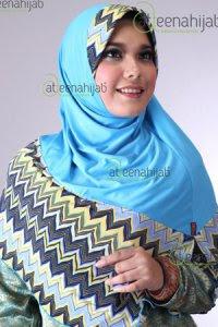 Saqina Atiqah Vanara - Turqis (Toko Jilbab dan Busana Muslimah Terbaru)