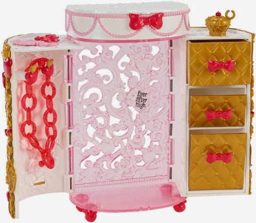 JUGUETES - EVER AFTER HIGH   Accesorios - Joyero | Apple White | Jewelry Box  Producto Oficial | Mattel | A partir de 6 años