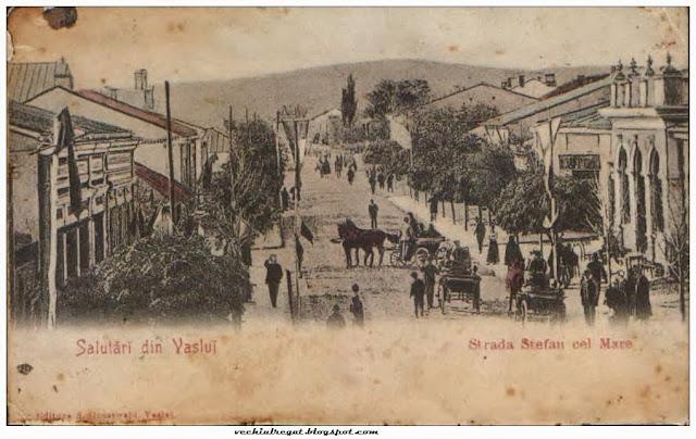 Strada Stefan cel Mare din Vaslui