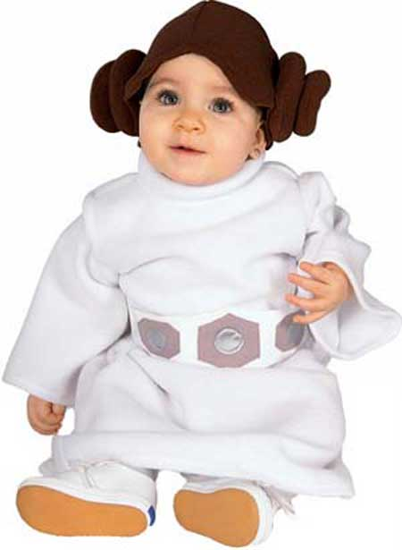baby princess leia costume. 15A: Role for Carrie (LEIA).