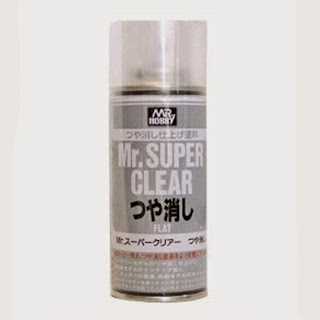 лак Mr.SuperClear Flat матовый