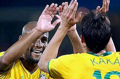 Kaka in exchange for Maicon