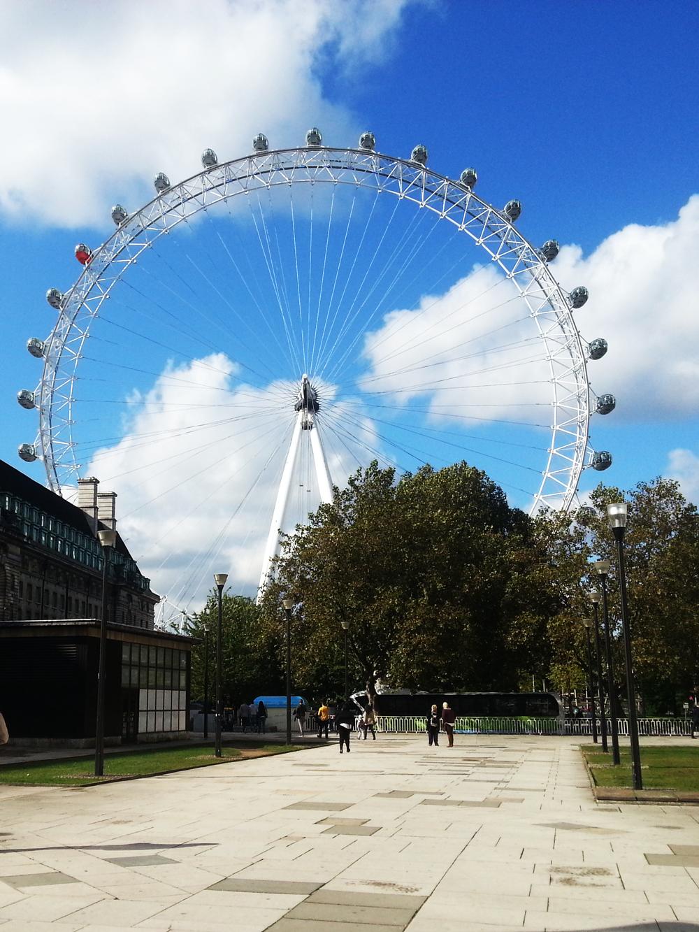 blog modowy London Eye