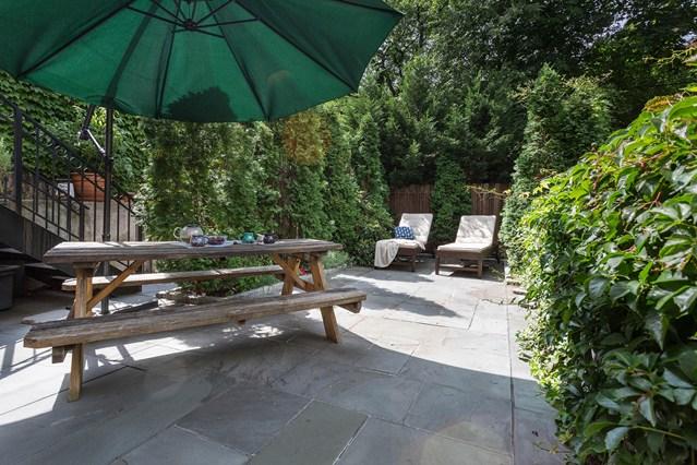 Jardín para relajarse, en Nueva York